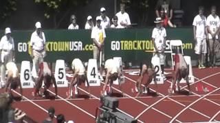 2012 wsu track Pac-12 110HH Josiah Sims Ramsey Hopkins PRELIM