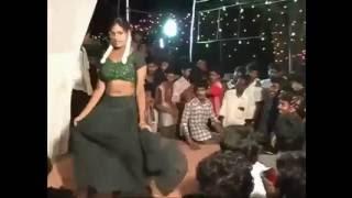 Telugu Village Stage Recording Dance Show Video