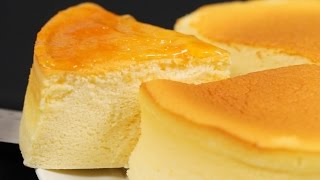 Soufflé Cheesecake Recipe (Japanese Cotton Cheesecake) | Cooking with Dog