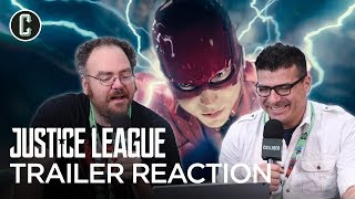 """Justice League Trailer Reaction """"Heroes"""" Version - NYCC 2017"""