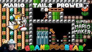 Mario Gets Some Tail In High Heels: Mario Maker