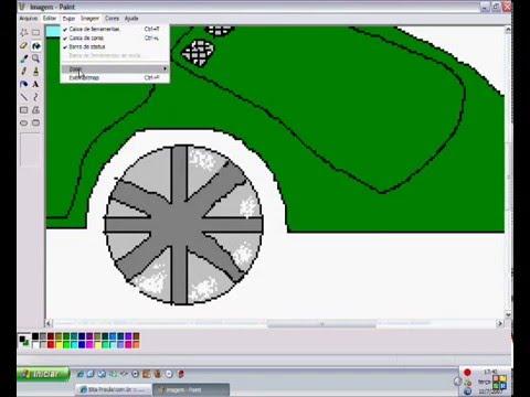 EP Como fazer um carro no MS PAINT