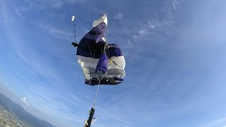 Friday Freakout: Skydiver Can