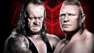 The Undertaker vs Brock Lesnar Wrestlemania 30 HD WWE2K17!!