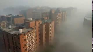 MUST WATCH!!!!!!!! Sharda University in winters just like heaven