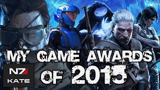 My Game Awards of 2015