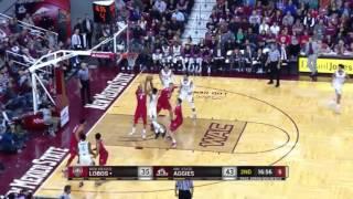 Jemerrio Jones highlights - NMSU v. UNM - 10 Dec 2016