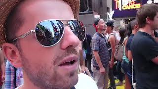 NAKED GIRLS ON TIMES SQUARE | USA TRIP 8
