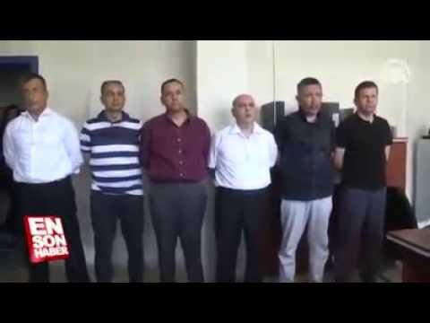 Darbeci Akın Öztürk ve Darbe Ekibinin Gözaltına Alınışı sorgulanması.