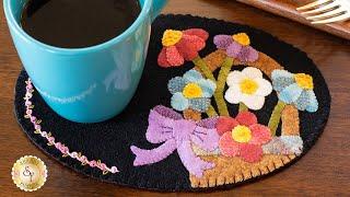 Wooly Mug Mat Series - May | A Shabby Fabrics Tutorial