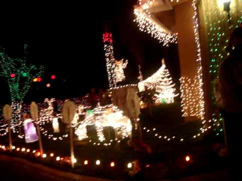 decoracion navideña casa miami