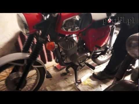 Motocykle czasów PRL u