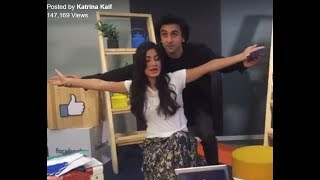 Ranbir Kapoor and Katrina Kaif  Facebook Live video | Jagga Jasoos