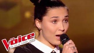 Diam's – Dans le Noir   Camille Esteban   The Voice France 2017   Blind Audition
