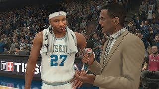 NBA 2K18 My Career - 7 of 8 Splashes! PS4 Pro 4K Gameplay