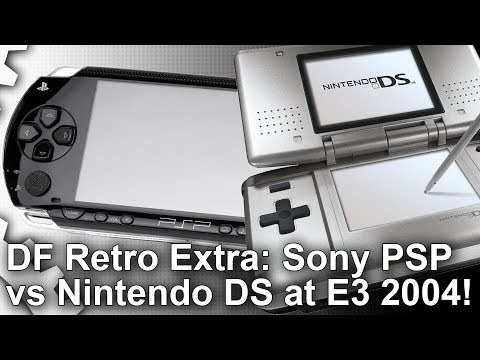 Xxx Mp4 DF Retro Extra Sony PSP Vs Nintendo DS At E3 2004 The Console War That Defined Mobile Gaming 3gp Sex