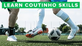 LEARN 5 COOL COUTINHO FOOTBALL SKILLS   How to play like Philippe Coutinho