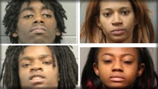 CHARGES FILED AGAINST RACIST BLACK TEENS WHO TORTURED DISABLED WHITE TRUMP SUPPORTER
