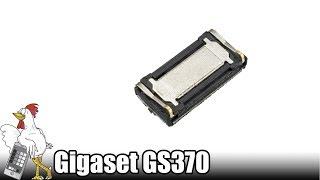 Guía del Gigaset GS370: Cambiar auricular