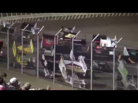 34 Raceway MOWA Sprint Car Series feature 9/6/14