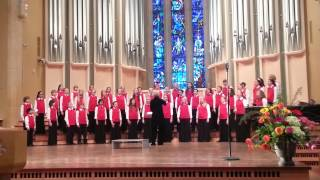 The Northfield Youth Concert Choir sings Love Divine, May 5, 2013