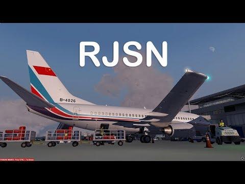Download Prepar3D v4 - PMDG 737-700 ILS approch RJSN with Hall sensor throttle stick HD Mp4 3GP Video and MP3