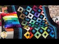 How to Make the Harlequin Charm Quilt   A Shabby Fabrics Sewing Tutorial