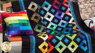 How to Make the Harlequin Charm Quilt | A Shabby Fabrics Sewing Tutorial