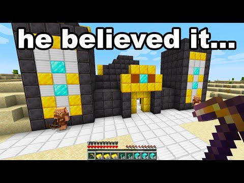 Fooling My School Friend With A FUNNY Fake Minecraft Speedrun