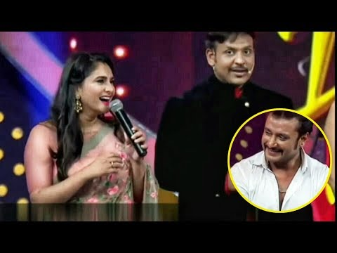 Xxx Mp4 Ramya Proposing Challenging Star Darshan In Live Stage Exclusive Video 3gp Sex