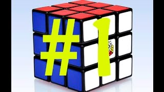 Solution Comment faire un Rubik's Cube 3x3 #1 La première face