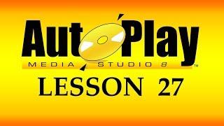 تعلم AutoPlay Media Studio و برمجة تطبيقات الويندوز - 27 - Dialog Object