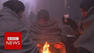Winter freeze claiming rmigrant lives across Europe - BBC News