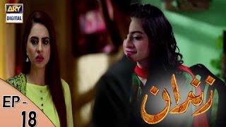 Zindaan - Ep 18 - 23rd May 2017 - ARY Digital Drama