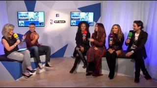 Little Mix interview at the NBA Global Game in Lodon 2015