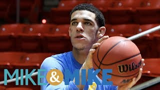 Comparing Lonzo Ball to Steph Curry | Mike & Mike | ESPN