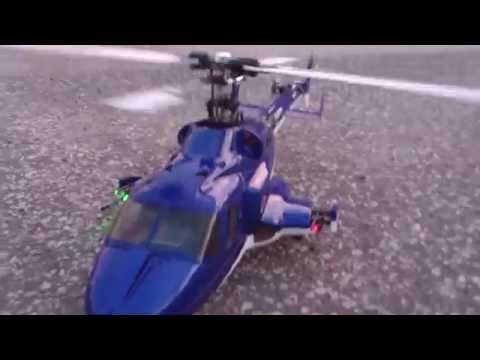 RC HELICOPTER BLADE 450 SCALE FLYING / UNCUT - 1MSTV - HD