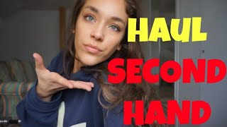 Haul Haine SECOND HAND