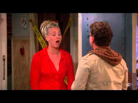 Penny imitates Leonard s voice The Big Bang Theory S6x6