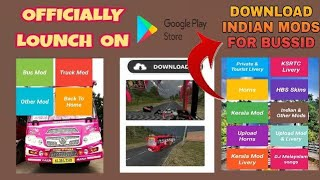 Download Indian Bus Mods For Free|Kerala Bus Mod Livery APP Official Lounch In Play Store|