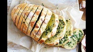 آموزش درست کردن نان سیردار در سه سوت - Easy Garlic Bread