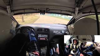 Авария на Ралли мастерс шоу 2015 | RMS onboard crush N34 VW Polo