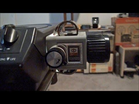 Kodak Ektagraphic Filmstrip Adapter AV425
