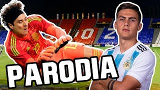Canción Argentina vs México 2-0 (Parodia Bad Bunny feat. Drake - Mia)