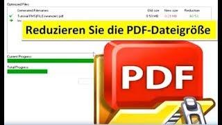 Reduzieren PDF-Dateigröße - Swiss Made Software