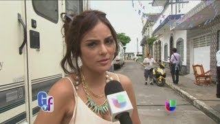 Ximena Navarrete contó lo que sucede tras bastidores de 'La Tempestad' - El Gordo y La Flaca