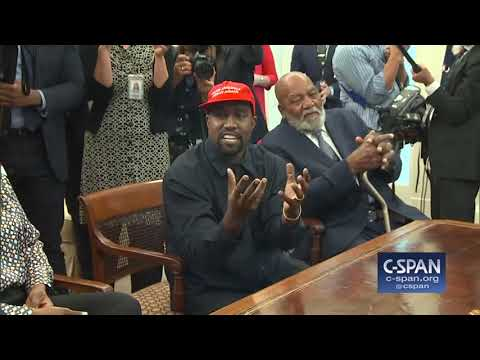 Xxx Mp4 Kanye West In The Oval Office With President Trump C SPAN 3gp Sex