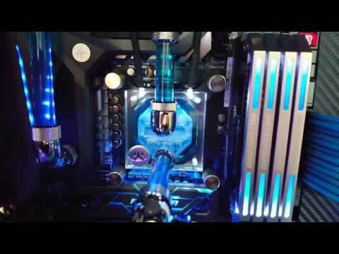 NEW 2016 (Blue Crush 2.0 and Red Rage 0.5) - Corsair 900D, 750D - Liquid Cooled - ASUS ROG