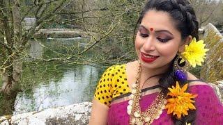 Pohela Boishakh Makeup Tutorial | Makeup Tutorial in Bangla