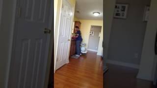 Crazy wife!